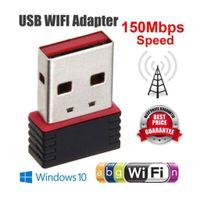 Wireless USB 2.0 Wifi Netzwerkadapter Computer Zubehör Einfach zu bedienen Werkzeug