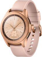 SAMSUNG Galaxy Watch 42 mm LTE, Smartwatch, Silikon, S,L, Roségold