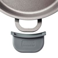BERNDES Thermo Grips Silikon-Thermogriffe für Aluguss-Kochgeschirr
