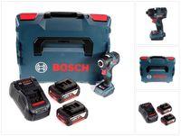 Bosch GDR 18 V-200 C Akku Drehschlagschrauber 18 V 1/4' in L-Boxx + 2 x 5,0 Ah Akku + Ladegerät