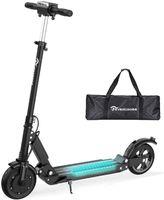 Elektroroller Electric Scooter 30km/h, 350W Motor, Anti-Rutsch-Reifen und LCD-Bildschirm, wasserdicht, E-Scooter für Erwachsene und Jugendliche