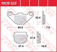Lucas Bremsbelag Satz MCB522