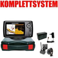 Humminbird Helix 5 DI G2 Down Imaging Echolot Portabel Basic – Komplettsystem