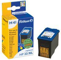 Pelikan wiederbefüllte Tinte 4108975 ersetzt HP301XL,schwarz