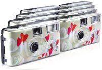 CYE&Flying Hearts Einwegkamera (27 Fotos, Blitz, 8-er Pack)