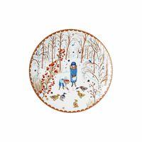 Hutschenreuther Sammelkollektion 21 Weihnachtsgaben Teller flach 22 cm 02476-727355-10862727355-10862 Neuheit 2021