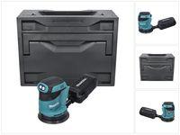 Makita DBO 180 ZX Akku Exzenterschleifer 18 V 125 mm + Makbox - ohne Akku, ohne Ladegerät