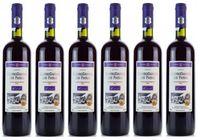 6x Mavrodaphne Rotwein Imperial Mavrodafne aus Patras Griechenland a 750 ml 15% Vol. Dessertwein