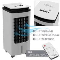 TroniTechnik Luftkühler LK02 Ventilator, inkl. Fernbedienung und Luftfilter
