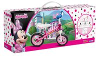 Laufrad Minnie Mouse 10 Zoll Mädchen Rosa/Weiß