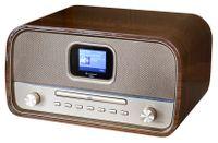 Soundmaster DAB970BR Nostalgie Musikcenter mit DAB+, CD, Bluetooth, Farbdisplay