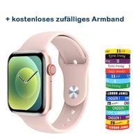 2021 Neu 1.75 Zoll 320*385 HD-Display EKG Smart Watch Bluetooth-Herzfrequenzmesser IP68 Wasserdicht SportUhr Pink