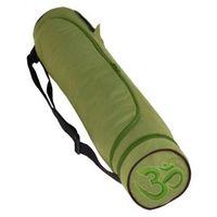 Yogatasche OM Baumwolle grün 80