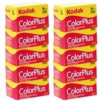 Kodak Color PLUS 200 Film, 135 mm , 36 Aufnahmen, 10 Filme Paket
