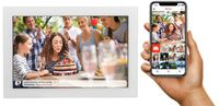 Inter Sales Denver PFF-1017WHITE - 25,6 cm (10.1 Zoll) - 1280 x 800 Pixel - IPS - JPEG - 16 GB - Mic