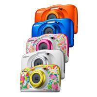 Nikon COOLPIX W150 Weiß Rucksack Kit, Farbe:Blau