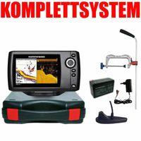 Humminbird Helix 5 DI G2 Down Imaging Echolot Portabel Profi Edition – Komplettsystem