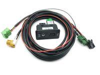 Kabelsatz Buchse Discover Media MIB MIB2 USB AUX IN Carplay Navi 5G0035222E