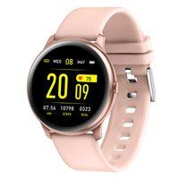 Abtel Smartwatches Blut Sauerstoff Sauerstoff Herzfrequenz Schlaf Monitor Fitness Tracker,Farbe: Pink