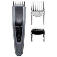 Philips Hairclipper series 5000 HC5630/15 Kabellos oder kabelgebunden, Anzahl der Längenschritte 28, Schrittgenau 1 mm, Schwarz/Grau