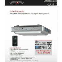 Reflexion CLR-2910 Küchenunterbauradio mit CD/MP3/AUX-IN/USB + Fernbedienung