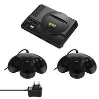 Retro Mini TV Videospiel 16-Bit-Spiele mit 208 verschiedenen integrierten Spielen Zwei Gamepads