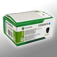 Lexmark Return-Toner     CY     C2320C0