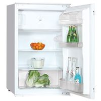 PKM Einbau Kühlschrank mit Gefrierfach KS120.4 EB Schleppscharnier 118 L