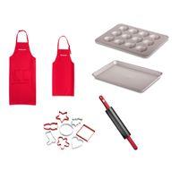 KitchenAid Küchengeräte-Zubehör Familien Set