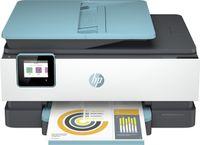HP OfficeJet Pro 8025e, Thermal Inkjet, Farbdruck, 4800 x 1200 DPI, Farbkopieren, A4, Schwarz, Blau, Weiß