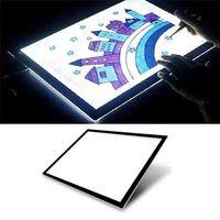 LED USB Zeichenbrett Tracing Light Box Board Dünn Pad Table Art Tattoo A5