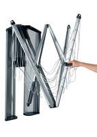 Brabantia WallFix Wand-Wäschetrockner 24 Meter mit Aufbewahrungsschutzbox