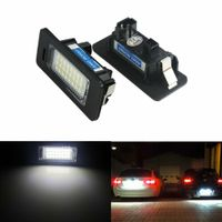 2x LED Kennzeichenbeleuchtung Lampen für BMW E39 E60 E61 E70 E71 E82 E88 E90 E91 E92