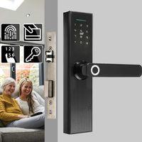 Elektronisches Smart Türschloss Biometrischer Fingerabdruck Digital Code Smart Card Key