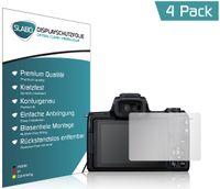 """4x Slabo Displayschutzfolie für Canon EOS M50 KLAR """"Crystal Clear"""" Displayfolie Schutzfolie Folie"""