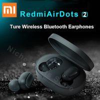 Xiaomi Redmi AirDots 2 TWS Echter Bluetooth-Funkkopfhörer Bluetooth 5.0 mit Ladebox 4.1g Schnellverbindung Freisprechkopfhörer