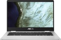 ASUS Chromebook C423NA-EC0376 silber, Celeron N3350, 8GB RAM, 64GB SSD, DE (90NX01Y1-M04630)