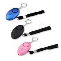 Schramm® 3 Stück Taschenalarm  Panikalarm Selbstschutz 130db Schlüsselanhänger Taschenlampe Taschen Alarm Schlüssel Panik Selbstverteidigung 3er Pack