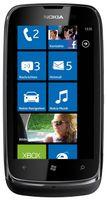 """Nokia Lumia 610 Lumia, 94 mm (3.7 """"), 800 x 480 Pixel, LCD, 0.8 GHz, Qualcomm, 256 MB"""