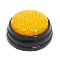 Orange Aufnahmefähige Sprechtaste mit LED-Lichtfunktion Antwortsummer