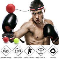 Reaktionsball Boxing Speed Ball Trainer Sport Hohe Qualität 100/% Nagelneu