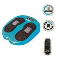 Gymform® Leg Action Vibrationsplatte Vibrations + Shiatsu Massage Fußmassage Beinmassage inkl. Massageplan