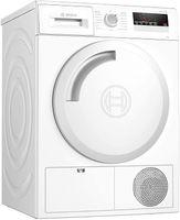 BOSCH Wäschetrockner Serie 4 WTH83V20 (Kondensation, Wärmepumpe, , freistehend, 8kg, Restzeitanzeige, Endezeit-Vorwahl, easy-clean-Filter, Knitterschutz,)