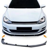 Frontspoilerlippe Spoilerlippe Schwarz für VW Golf 7 Limousine Variant 12-21