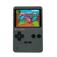 Silvergear Handheld Spielekonsole, Spielkonsole mit 240 Klassischen Spielen, Tragbare Retro Videospielekonsole, 2.8 Zoll Display, Grau