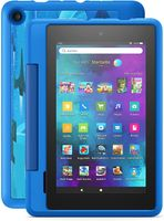 Amazon Fire 7 Kids Pro Tablet (2021), Ab 6 Jahren 17,8 cm (7 Zoll) großer Bildschirm, 16 GB, kindgerechte Hülle mit Raumschiffe-Design