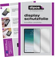2x Apple iPad Pro 11 Zoll (2020) Schutzfolie klar Displayschutzfolie Folie