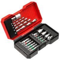 Einhell Werkzeug-Zubehör Bit-Bohrerbox 22tlg. S-Box