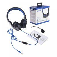 Snakebyte Head:Set 4 Gaming-Headset kompatibel mit PS4 Abnehmbares Mikrofon