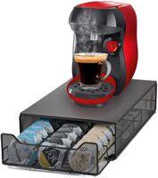 Kaffee Kapselhalter für 40 Kapseln Kapselständer Schubladen Organiser